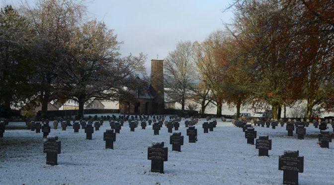 Kriegsgräbereinsatz Recogne / Bastogne